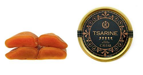 Black Sturgeon Caviar -〔10g 〕 and Bottarga di Muggine Sardinia 〔100g 〕