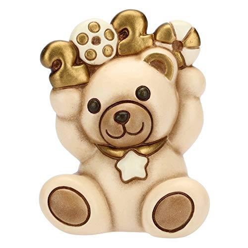 THUN ® - Teddy Beige Buon 2020 Piccolo - Ceramica - h 8,5 cm - Linea I Classici
