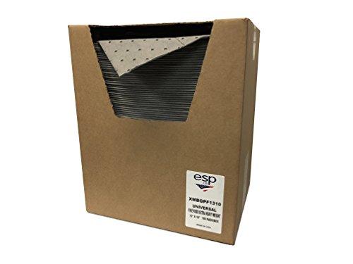NPS Spill Control XMBGPF1310 Extra Heavy Absorbent,12 Gal Capacity, Polypropylene, Gray Pad (13