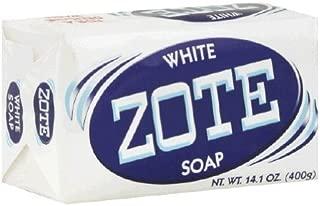 Zote White Soap 4pk 14.1oz Laundry Pre Treater Blue