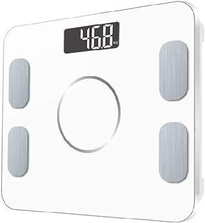 Básculas Digitales De Baño El Más Nuevo Electrónico Smart Body Fat Mi Scale Báscula De Baño Digital Báscula Bluetooth Balance Peso Humano Bmi Básculas Piso 20 Datos Blanco