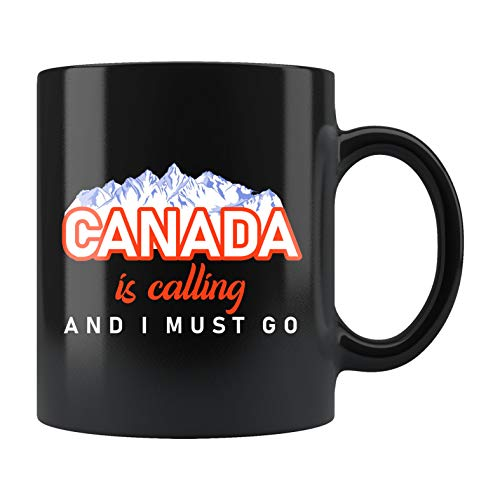 Canadá, Canadá, taza de viaje, regalo de viaje, taza de viaje Canadá, regalo de viaje, regalo de viaje de Canadá, regalo de vacaciones, viajes, Canadá is Calling #b656