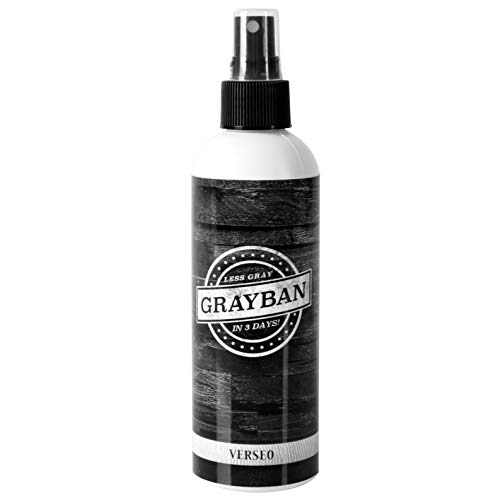 Grayban Hairspray Color Restorer for Gray Hair