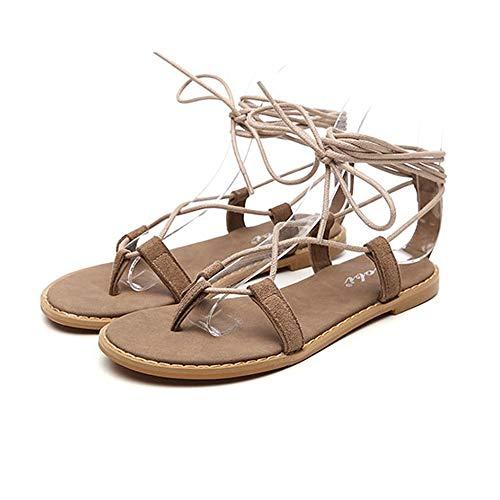 QLBF Sandalias de verano para mujer Casual Cómodas Sandalias for las mujeres cómoda sandalia de la plataforma calza los zapatos de la playa del verano viaje femenino de las sandalias de fondo plano de