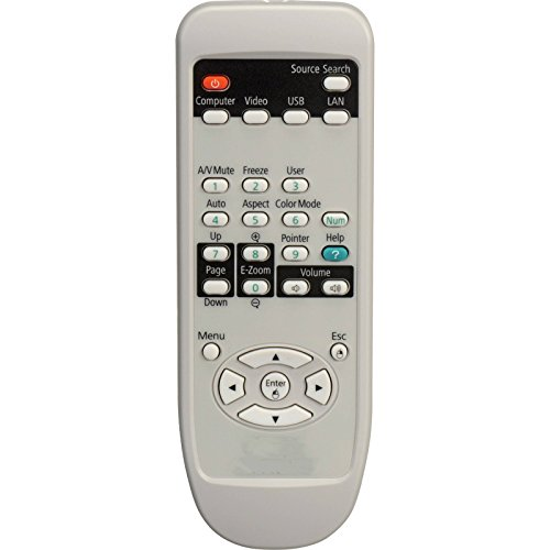 CK Global Projector Remote Control for EPSON Cinema 8500 8700 UB Home Cinema 8500UB 8700UB PowerLite 6500 6500ub Powerlite HC6100 8100Powerlite Home Cinema 8350