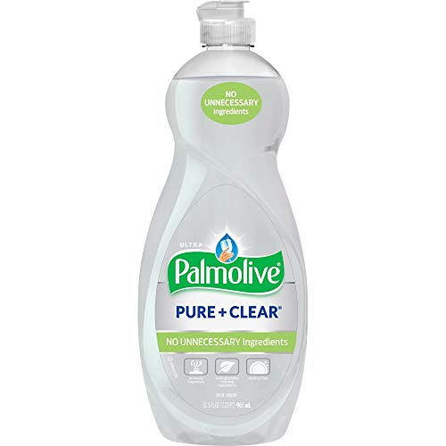 Palmolive Ultra Dish Liquid, Pure and Clear, 32.5 Ounce