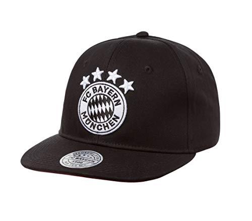 FC Bayern München Emblem Cap (one Size, Schwarz)