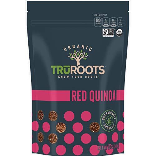 TruRoots Organic Red Quinoa, 12 Ounces, Certified USDA Organic, Non-GMO Project Verified