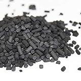 NRC Carbón activo, material de filtro de carbón activado, pellets estanque o acuario