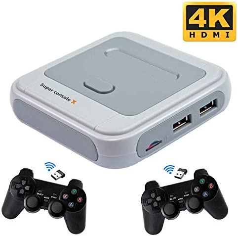 Kinhank Super Console X Video Game Console Built in 41 000 Games with 2 Gamepads Game Consoles product image