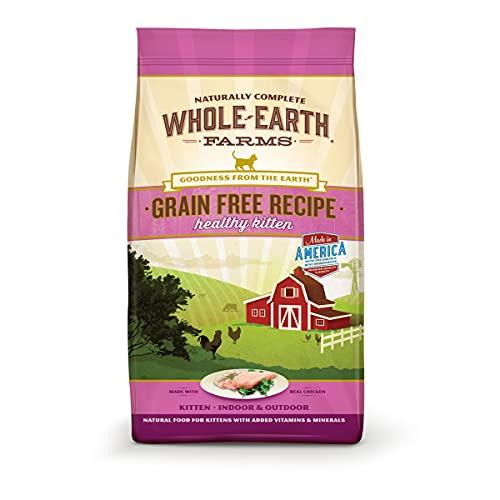 Whole Earth Farms Grain Free Dry Cat Food
