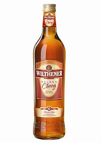 Wilthener Golden Cherry, Spirituose 21% vol. aus Weindestillaten, Weinbrand Spezialität mit Kirsch Aroma und Brandy Note, in Limousinholzfässern gereift (1 x 0.7 l)