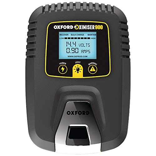 Oxford EL571 Battery Charger Oximizer 900 für alle Batterietypen inklusive Lithium