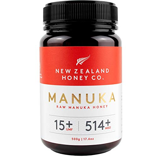 New Zealand Honey Co. Raw Manuka Honey UMF 15+ / MGO 514+ | 17.6oz / 500g