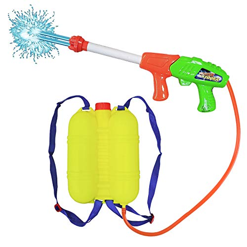 Liberty Imports Super Water Gun with Backpack Tank - Pump Soaker Blaster 2000 High Capacity Long Range Summer Outdoor Toys for Kids
