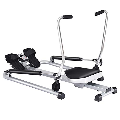 Buy Taltintoo20 Exercise Adjustable Double Hydraulic Resistance Rowing Machine, Dimensions 42.5 x 33...