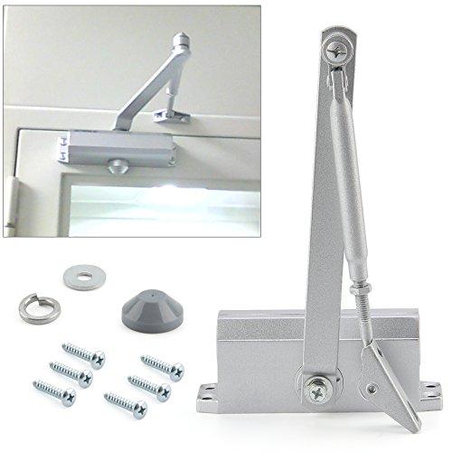 BALLSHOP Stangentürschließer Hydraulischer Türschließer Torschließer Tür Automatik Türfeder