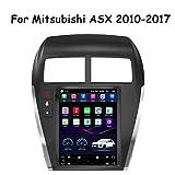HP CAMP 9.7 Pulgadas Dash Car Stereo Android 9.0 MP3 Player para Mitsubishi ASX 2010-2017, GPS Radio estéreo 2.5D Pantalla táctil, WiFi, BT, inversión, Cámara de Marcha atrás,4G WiFi 2G+32G