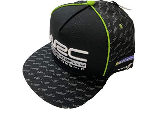 WRC World Rally Championship Sponsor Logo Snapback Flatbrim Cap