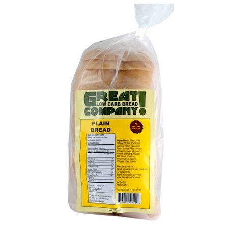 Great Low Carb Bread Co. - Plain - 3 Loaves