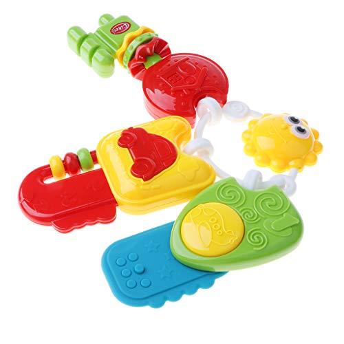 Fenteer Jouets Saisissant Montessor Hochet pour Poussettes et Lits pour Bébés