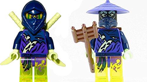 LEGO Ninjago 70734 70732 - Mini personaggio Ghost Ninja Hackler + guerriero fantasma Pitch con armi