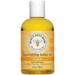 Burt's Bees Nourishing Baby Bee Baby Oil, 115 ml