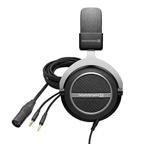 beyerdynamic Amiron home High-End Stereo-Kopfhörer und Audiophiles Anschlusskabel, symmetrisch für T 1 und T 5 p (2. Generation) High-End Stereo Kopfhörer
