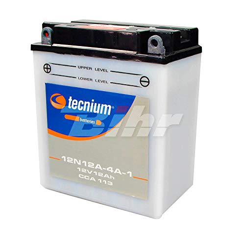 TECNIUM - Batería 12N12A-4A1 fresh pack (Sustituye 4835)