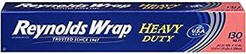 5-Pack Reynolds Wrap Heavy Duty Aluminum Foil, 130 Square Feet