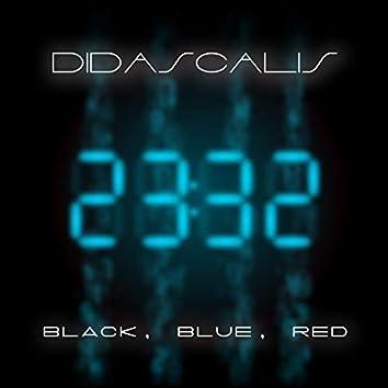 Black, Blue, Red