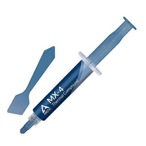 ARCTIC MX-4 (Espátula incl, 8 g) - Compuesto térmico de alto rendimiento de micropartículas de carbono, pasta térmica… 1