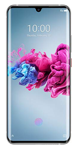 ZTE Smartphone Axon 11 (16.43 cm (6.47 Zoll) AMOLED Waterdrop Display, 128GB interner Speicher und 6GB RAM, 48MP Hauptkamera, 20MP Frontkamera, Dual-SIM, NFC, LTE, Android 10) White