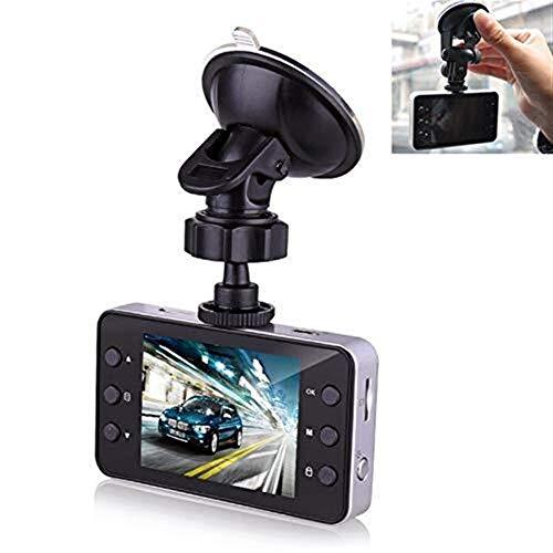 Rilevamento del movimento K6000 2.3 pollici 120 gradi grandangolare HD 1080P video dell'automobile DVR, carta di TF (32GB massimo) / Motion Detection, con 2 Night Vision luce di riempimento di guida V