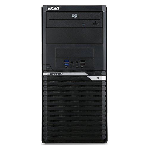 Gigabyte DT.VQAEG.005 Desktop PC (Intel Core i7, 8GB RAM, AMD Radeon R7 430, Win 10 Pro) schwarz
