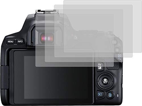 4ProTec I 4X ANTIREFLEX matt Schutzfolie für Canon EOS 250D Bildschirmschutzfolie Displayschutzfolie Schutzhülle Bildschirmschutz Bildschirmfolie Folie