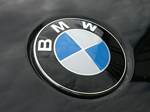 Logo BMW - Emblème pour capot - 82mm