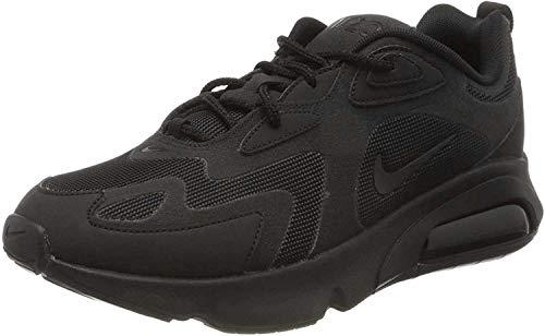 Nike Herren AIR MAX 200 Sneakers, Schwarz, 44 EU
