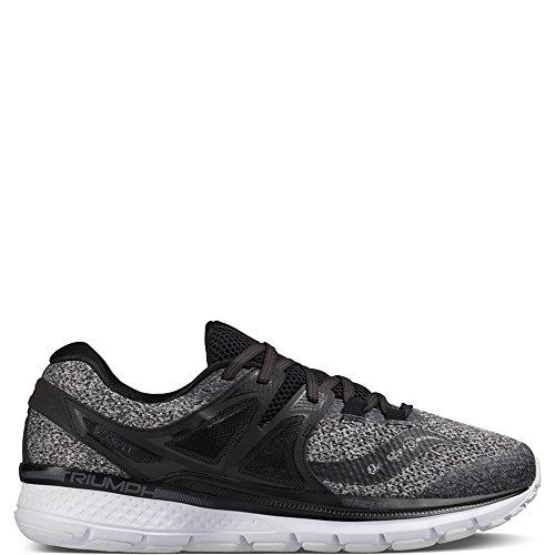 Price comparison product image Saucony Men's Triumph iso 3 lr Running Shoe,  Grey / Black,  8.5 M US