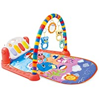 InKach Baby Piano Gym Playmat with Hanging Music Toys