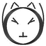 CNXUS Kit de Tuyau Essuie Glace Universel Tuyau de Liquide de...