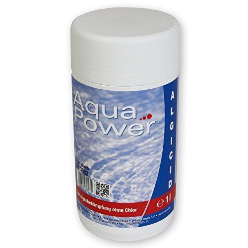 MyPool Algizid 1 Liter schaumfrei, hochkonzentriertes, chlorfreies Algenschutzmittel, algenvorbeugend, Schutz vor Algenbildung, Inhalt: 1 Liter