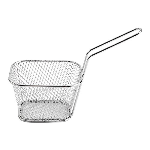 Chips Presentation Basket, Wide Range Of Uses Materials Fry Baskets for French Fries for Coffee Shop