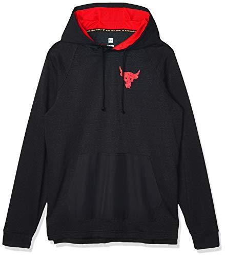 Under Armour Herren Sweatshirt UA Hoody Project Rock Terry 1355633.001 (M)