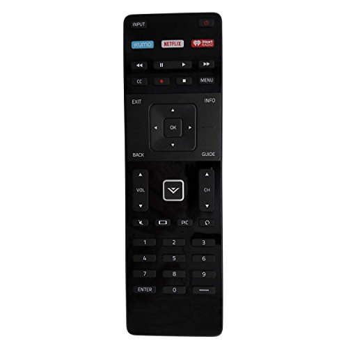 New XRT122 Remote for VIZIO Smart TV D32-D1 D32H-D1 D32X-D1 D39H-D0 D40-D1 D40U-D1 D55U-D1 D58U-D3 D60-D3 D65U-D2 E32-C1 E32H-C1 E40-C2 E40X-C2 E43-C2 E48-C2 E50-C1 D40F-E1 E55-C1 E65-C3 E65X-C2 E70-C