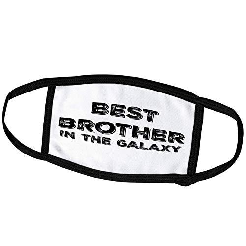 Promini Monatsmaske – BrooklynMeme Sprüche – Bester Bruder in der Galaxie – Staubmaske Outdoor-Schutzmaske