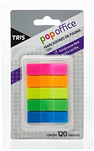 Marcador De Página Autoadesivo Colors T005 - Cart/120 Un - Tris Pop Office