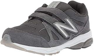 New Balance Boys' 888v1 Hook and Loop Running Shoe Magnet/Marblehead 10.5 W US Little Kid [並行輸入品]
