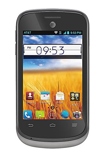 ZTE Avail II Z992 Unlocked GSM Android 4.1 Touchscreen Smartphone - Black