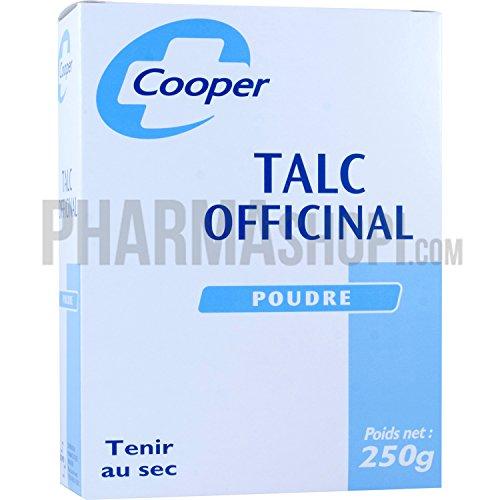 COOPER Talc Officinal Luzenac - Boîte 250 g